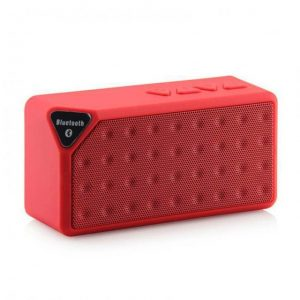 Multi-Functional Rechargeable Jambox X3 Fm Bluetooth Sd Slot Mic Tf Speaker Black