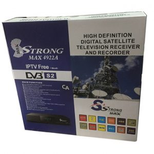 Strongmax 4922A free to air satelite tv decoder full HD HDMI RF out 2 usb