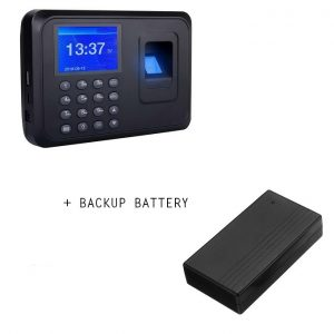 Fingerprint Attendance Machine Clock In/out + Backup Battery