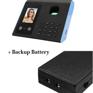 Time Attendance Face Recognition Machine+Backup Battery