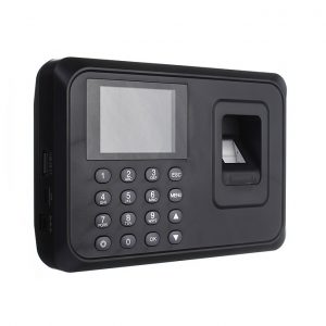 Biometric Fingerprint Staff recording Time Attendance Machine with backup battery