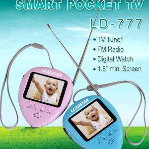 Analog TV Mini Rechargeable FM And Watch Function 1.8 Inch