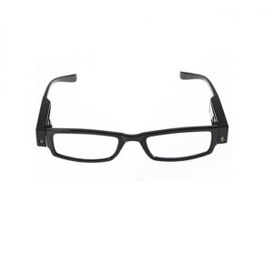 Multifunctional Reading EyeGlasses With LED Light Clear Vision And Case