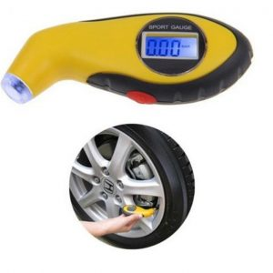 LCD Digital Tyre Air Pressure Gauge Tester Motorcycle Tire Guage