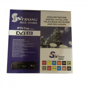 Strongmax 4950HD Free To Air Satelite Decoder HD RF Out IPTV