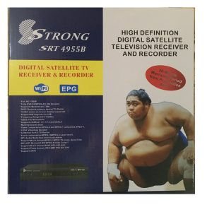 Strong 4955B Free To Air Satellite decoder with 2 dishes